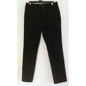 Curvy Petite Black Pants